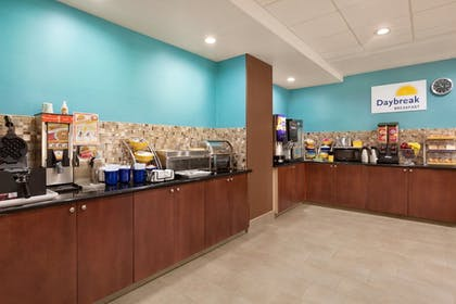 Buffet | Days Inn & Suites by Wyndham San Antonio near AT&T Center