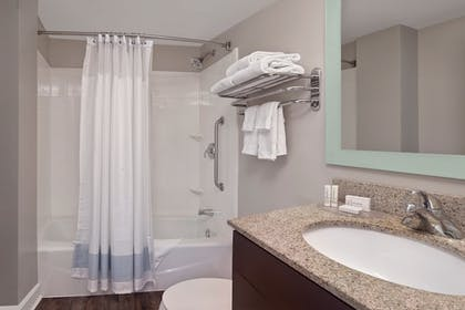 Bathroom | TownePlace Suites by Marriott Albany Downtown/Medical Center
