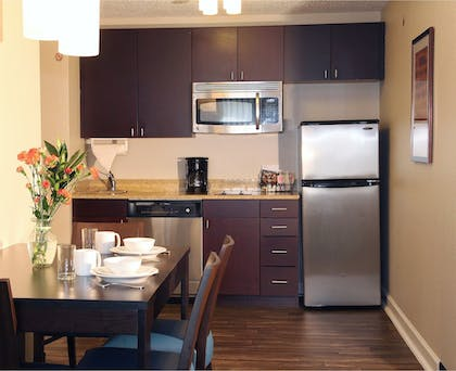 In-Room Kitchen | TownePlace Suites by Marriott Albany Downtown/Medical Center