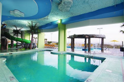 Indoor/Outdoor Pool | Wyndham Vacation Resorts Towers on the Grove