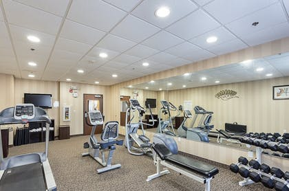 Fitness Facility | Holiday Inn Express Hotel & Suites BYRAM