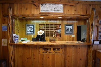 Check-in/Check-out Kiosk | Flying L Ranch Resort