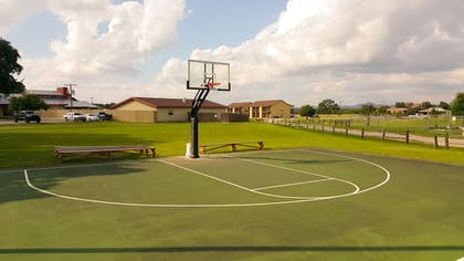 Basketball Court | Flying L Ranch Resort