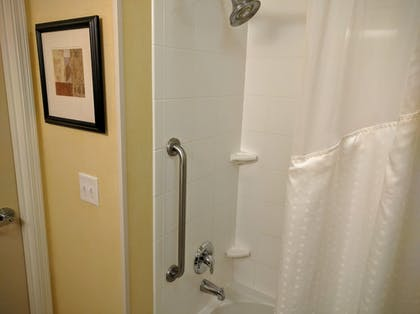 Bathroom Shower | Holiday Inn Express Hotel & Suites Merced