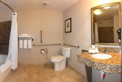 Bathroom | Holiday Inn Express Hotel & Suites Vancouver Mall