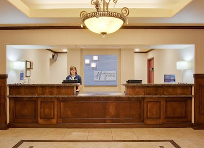 Reception | Holiday Inn Express Hotel & Suites Dinuba West