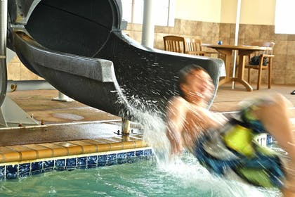 Waterslide | AmericInn by Wyndham Fargo Medical Center