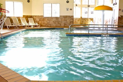 Indoor Pool | AmericInn by Wyndham Fargo Medical Center