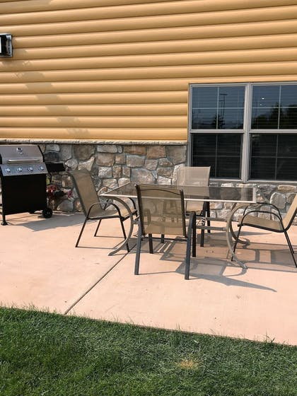 BBQ/Picnic Area | AmericInn by Wyndham Fargo Medical Center