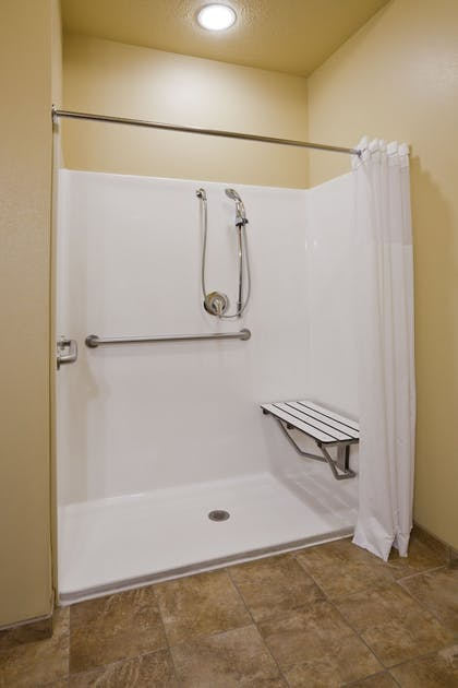 Bathroom | AmericInn by Wyndham Fargo Medical Center