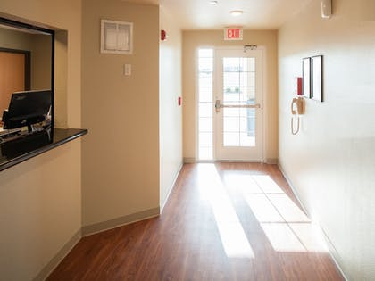 Interior Entrance | WoodSpring Suites Mobile