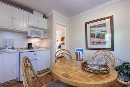 In-Room Kitchen | The Caribbean Court Boutique Hotel