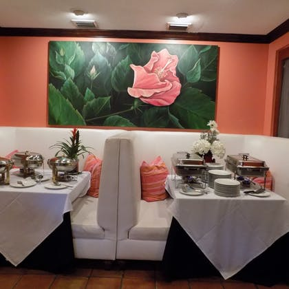 Birthday Party Area | The Caribbean Court Boutique Hotel