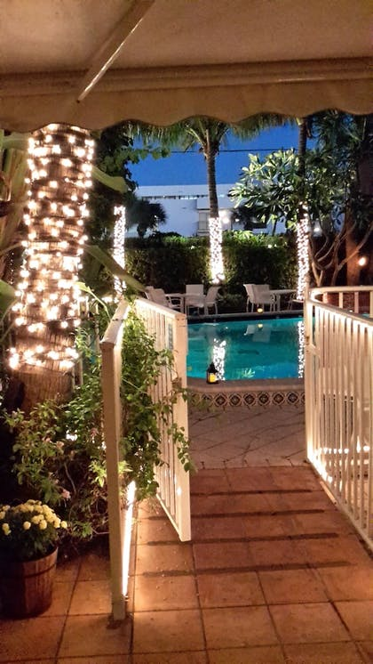 Courtyard View | The Caribbean Court Boutique Hotel