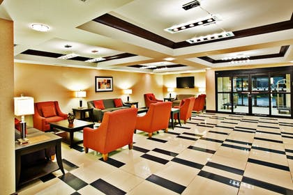 Interior Entrance | Holiday Inn Express Hotel & Suites Crawfordsville