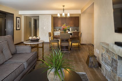 Living Area | Madeline Hotel & Residences, Auberge Resorts Collection
