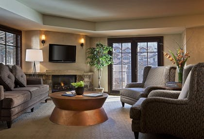 Living Room | Madeline Hotel & Residences, Auberge Resorts Collection