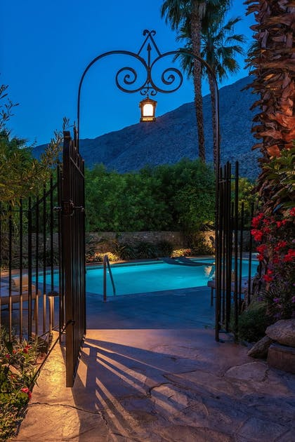 Outdoor Pool | The Willows Historic Palm Springs Inn