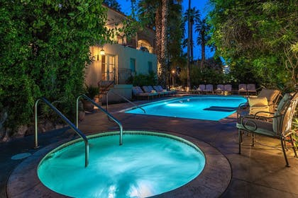 Pool | The Willows Historic Palm Springs Inn