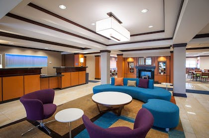 Lobby Sitting Area | Fairfield Inn & Suites by Marriott Orange Beach