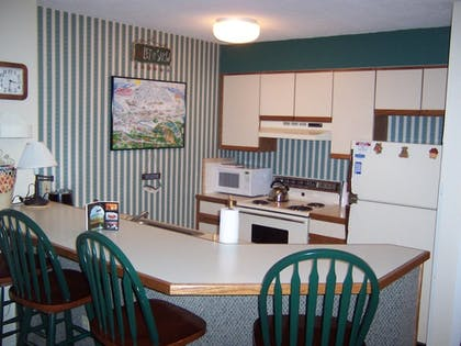 In-Room Kitchen | Mountain Lodge at Okemo