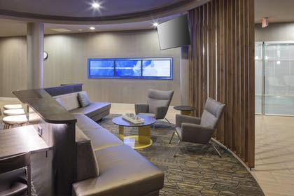 Lobby Sitting Area | SpringHill Suites by Marriott Salt Lake City Airport