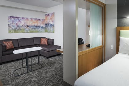 Guestroom | SpringHill Suites by Marriott Salt Lake City Airport