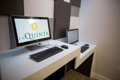 Business Center | La Quinta Inn & Suites by Wyndham Houston East at Normandy