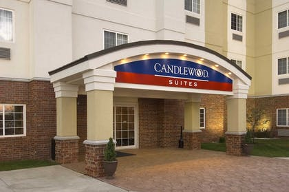 Hotel Front | Candlewood Suites Indianapolis Northwest