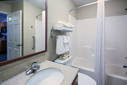 Bathroom | Candlewood Suites Indianapolis Northwest