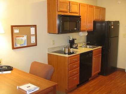 In-Room Kitchenette | Candlewood Suites Indianapolis Northwest
