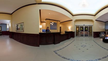 Interior Entrance | Holiday Inn Express Hotel & Suites Pauls Valley