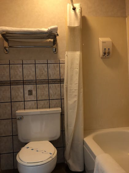 Bathroom | Travelers Inn