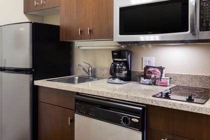 In-Room Kitchen   TownePlace Suites By Marriott Shreveport Bossier City