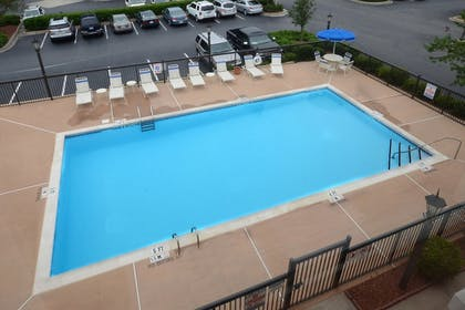 Outdoor Pool   Holiday Inn Express Hotel & Suites Greensboro Airport Area