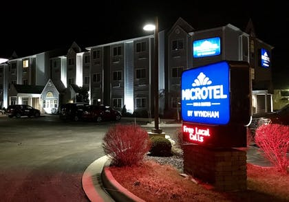 Hotel Front | Microtel Inn & Suites by Wyndham Elkhart