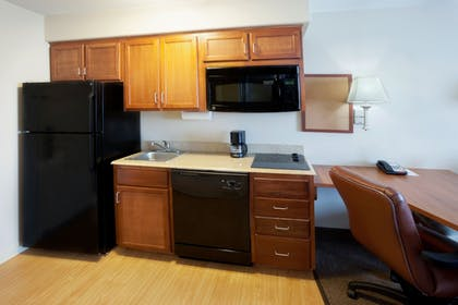In-Room Kitchen | Candlewood Suites VICTORIA