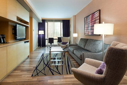| 1 Bedroom King Suite with Sofabed | West 57th Street by Hilton Club
