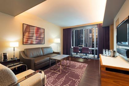| 1 Bedroom Penthouse King Suite with Sofabed | West 57th Street by Hilton Club