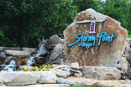 Exterior detail | Stormy Point Village Resort