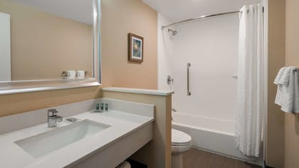 Bathroom | Best Western Hampshire Inn
