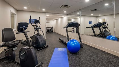 Fitness Facility | Best Western Hampshire Inn