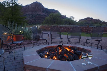 Courtyard | Red Agave Resort