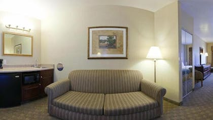 Living Area | Holiday Inn Express and Suites Henderson