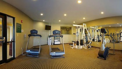 Fitness Facility | Best Western Plus Valdosta Hotel & Suites