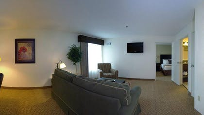 Living Room | Best Western Plus Valdosta Hotel & Suites