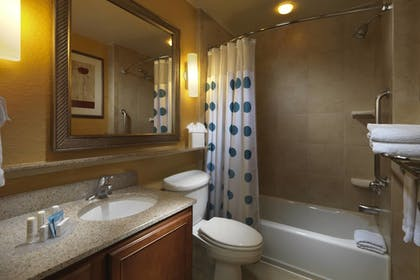 Bathroom | TownePlace Suites by Marriott Houston Intercontinental Arpt
