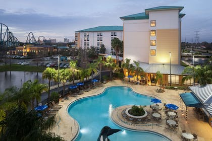 Exterior detail | SpringHill Suites by Marriott Orlando at SeaWorld