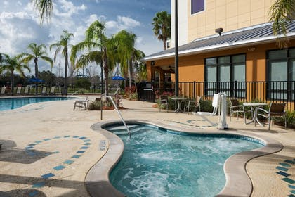 Outdoor Spa Tub | SpringHill Suites by Marriott Orlando at SeaWorld