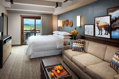| Studio, 1 King Bed, Fireplace | Sheraton Steamboat Resort Villas